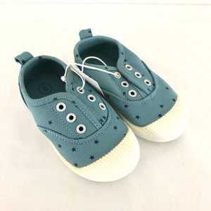 Cat & Jack Toddler Girls Sneakers Shoes Stars 6